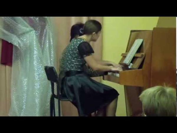 12. Полька пиццикато - И.Штраус, исп. фортепианный дуэт М.Гладышева и Н.Мансурова