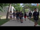 В ВДЦ Смена прибыла делегация Спортивной Федерации Хайденхайма Германия