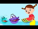 Mermaid Gives Seashell Watermelon More Kids Videos Songs for Children