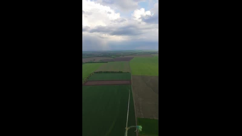 Полет на параплане))