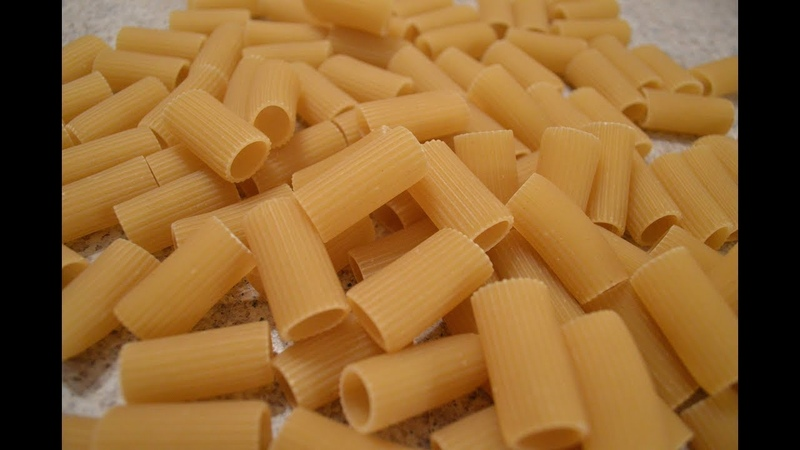 How to Boil Dry Rigatoni Pasta Cooking with Kimberly