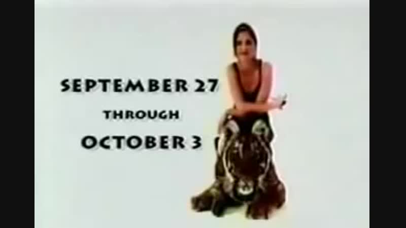 1998.09-10 - Рекламные ролики Animal Planet