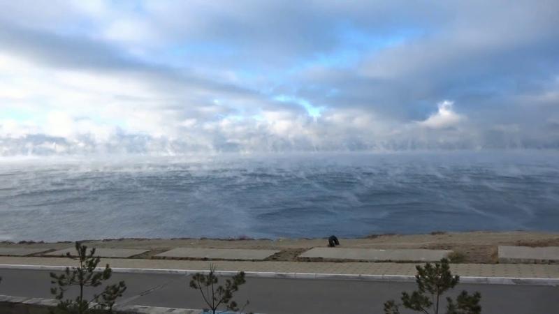 Анапа Море Парит, Резкое похолодание