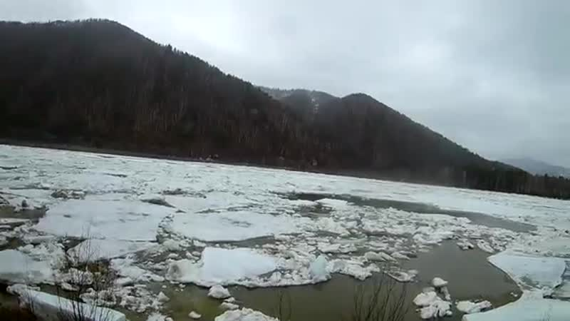 Ледоход на реке Абакан 2018 _ Ice drift on the Abakan river 2018-led-ledoxod-na-reka-sport-aaaa-scscscrp