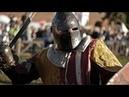 Жестокая драка рыцарей на фестивале Битва на Неве.