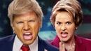 Donald Trump vs Hillary Clinton. Epic Rap Battles of History.