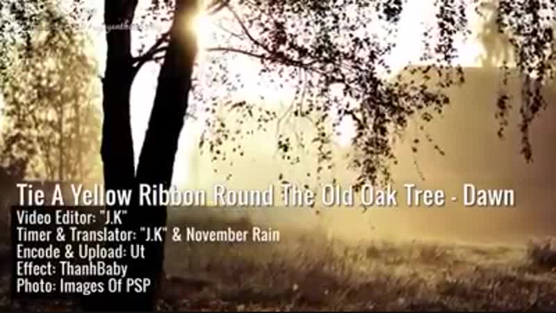 Tie A Yellow Ribbon Round The Old Oak... (ATA UNA CINTA AMARILLA AL VIEJO ROBLE)