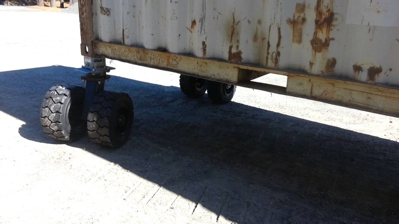 Container Dollies, Move up to 40' Containers for Survival and Preppers