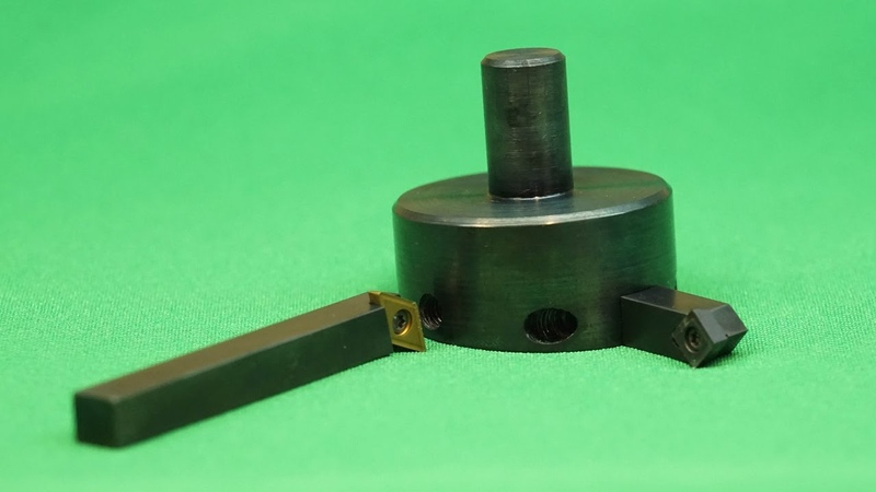 How to make carbide insert fly cutter for milling machine