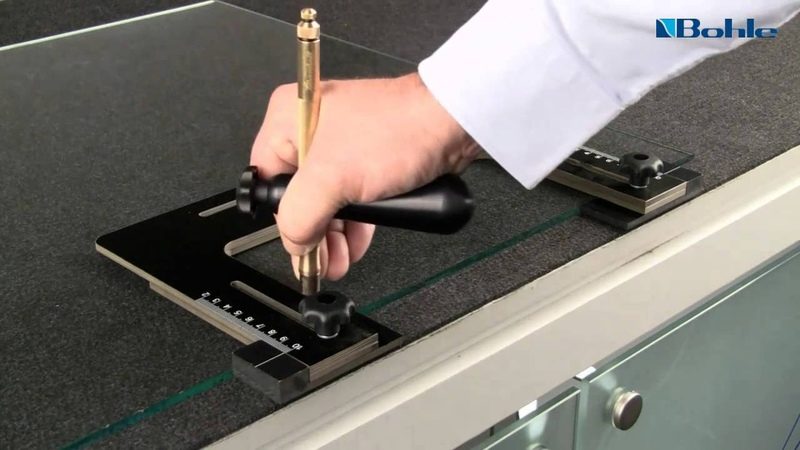 Big Frank: How to cut out lateral notches in glass simply and safely