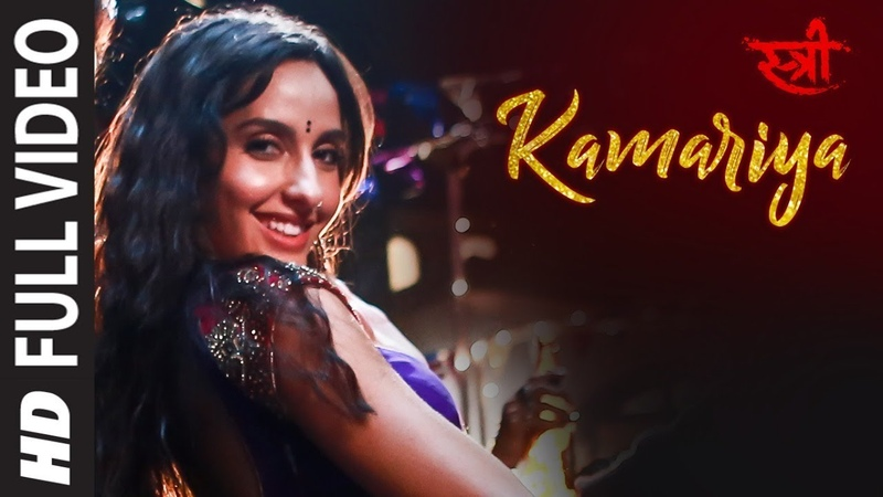 Full Video Kamariya | STREE | Nora Fatehi | Rajkummar Rao | Aastha Gill, Divya Kumar |Sachin- Jigar