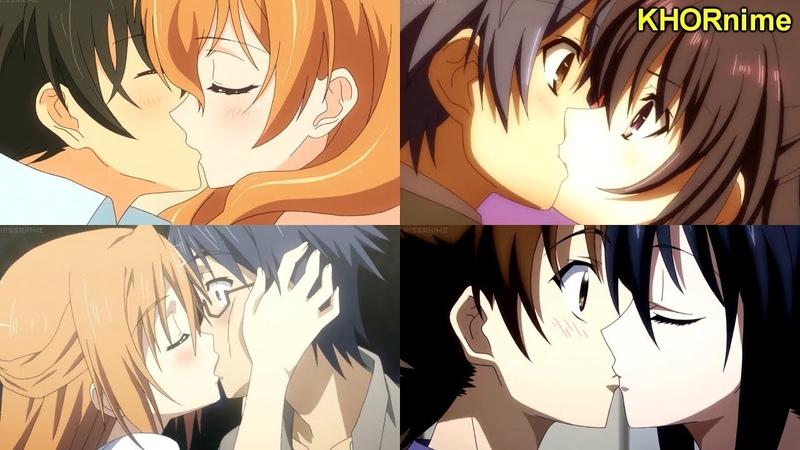 CUTEST ROMANTIC ANIME KISS COMPILATION 3 | かわいいアニメキスシーン集
