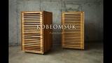 Kobeomsuk furniture - Making of Movable White Oak Cabinet