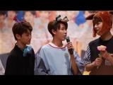 VK180722 Golden Child (Donghyun focus) @ Yongsan fansign
