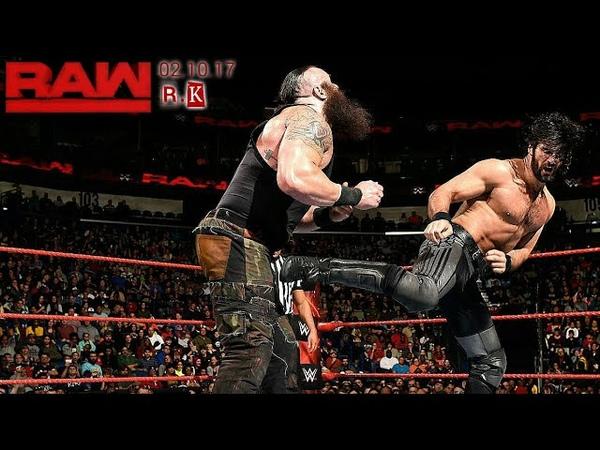 Сет Роллинз против Брауна Строумана Результаты прошедшего RAW в описании!