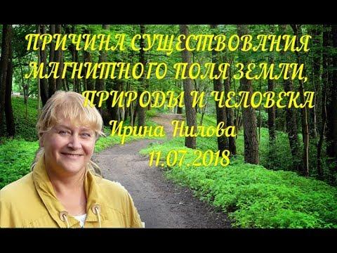 Ирина Нилова - Причина существования магнитного поля земли, природы и человека