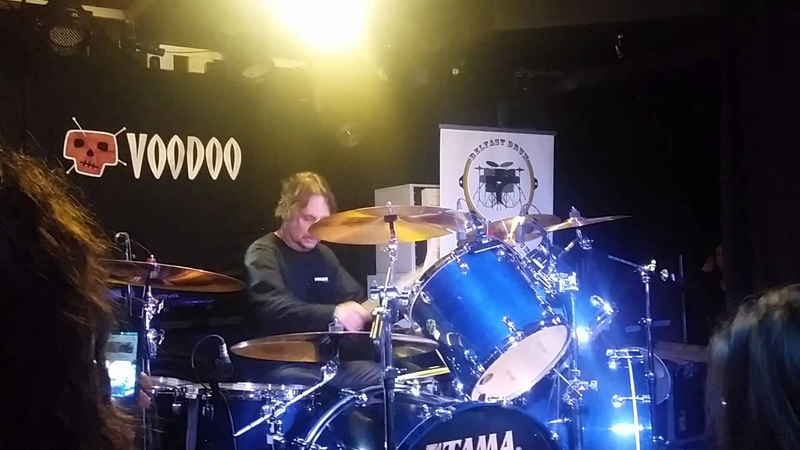 Dave Lombardo Playing With Click Track