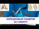 Что делать если болит СПИНА и тянет НОГУ Упражнения для лечения КОРЕШКОВОГО с-ма в домашних условиях - YouTube