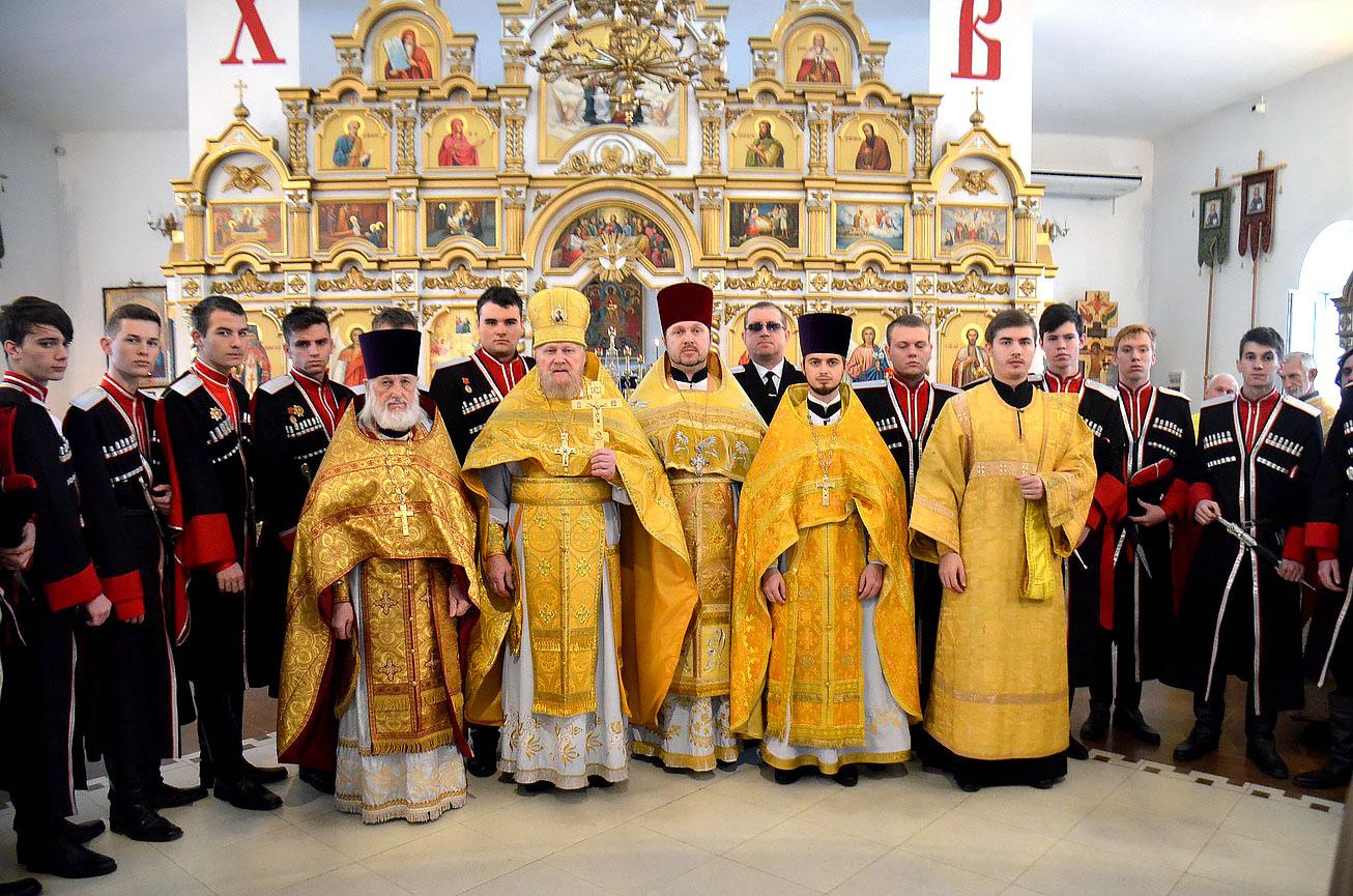 Престольный праздник храма святого Александра Невского города Темрюка