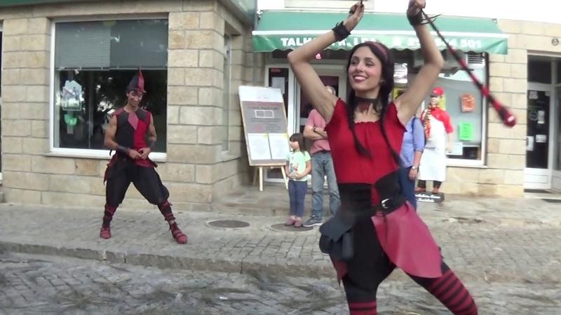 Penedono 7 Julho 2018 Feira Medieval Os Curinga e Saltimbancos
