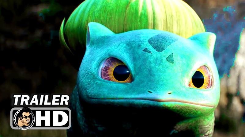 POKEMON DETECTIVE PIKACHU TV Spot Trailer 2 NEW 2019 Ryan Reynolds Movie HD