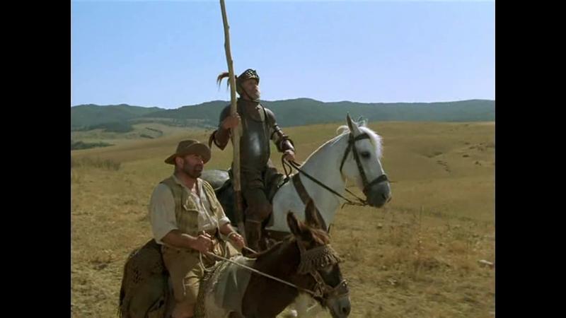 ДОН КИХОТ (2000) - экранизация. Питер Йетс 1080p