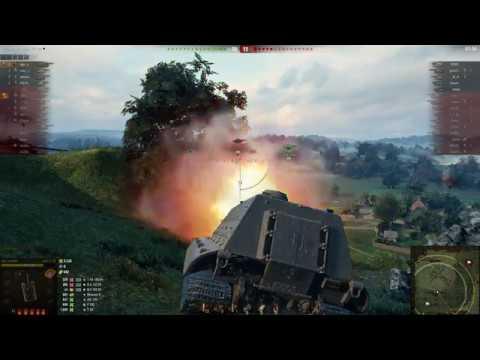 КЛЁВЫЙ бой на Jagdpanzer E100 6 ФРАГОВ 5 К УРОНА
