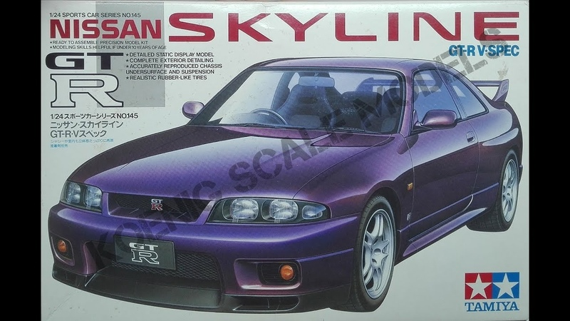 Nissan Skyline GT-R V Spec - Tamiya 1/24