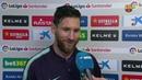 ESPANYOL 0-4 FC BARCELONA | Declaraciones de Leo Messi