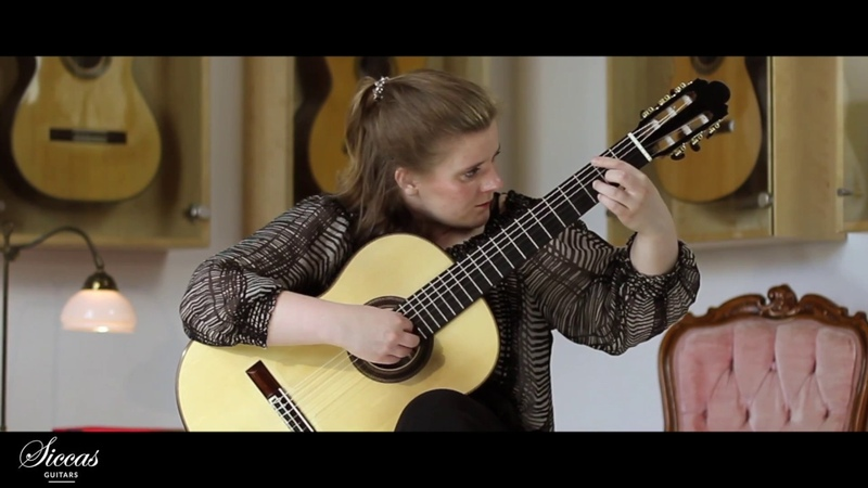 Kristina Vårlid plays The old lime tree by Sergey Rudnev on a 2018 José Marin Plazuelo