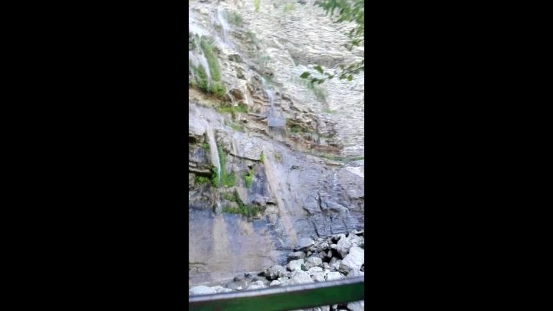 Водопад Учан-Су на Ай-Петри.