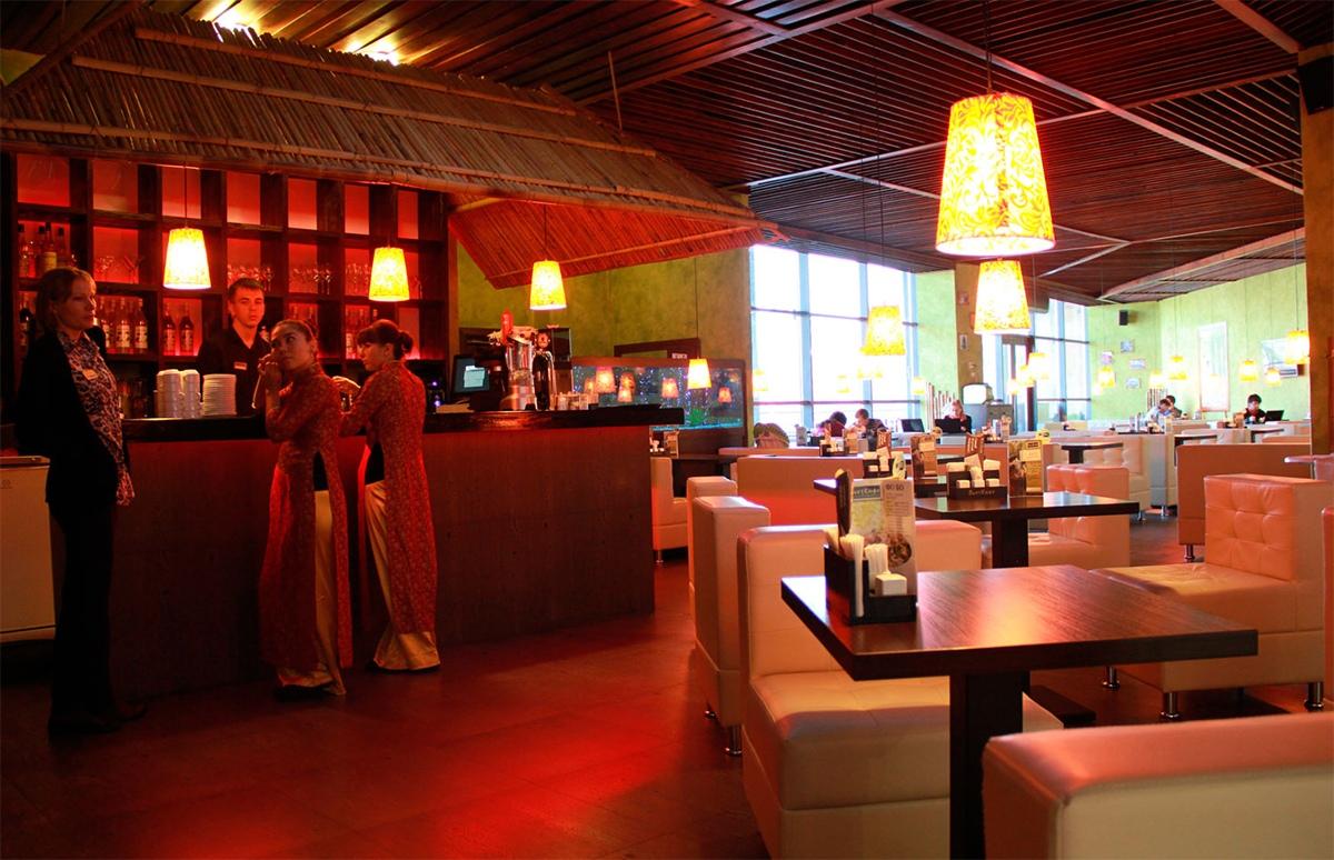 Ресторан кафе строительство под ключ Алматы