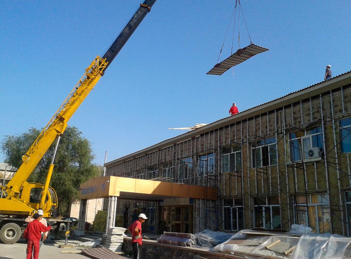 Строительство дома культуры Алматы