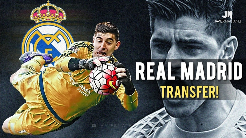 Thibaut Courtois - Real Madrid Transfer! Best Saves 2017-2018