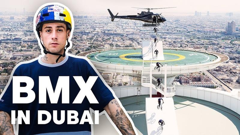 BMX Riding Dubai's Most Famous Landmarks   with Kriss Kyle