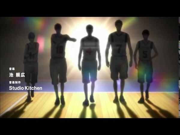 Баскетбол Куроко опенинг 3