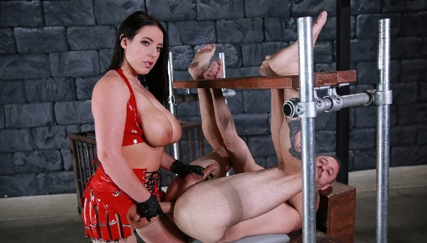 Femdom & Strapon - Sodomized Ass Whore