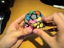 Megaminx example solves (by Latvian NR holder)