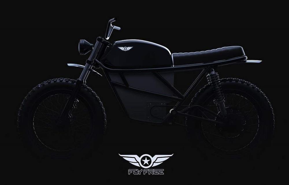 Электроцикл Fly Free Smart Desert