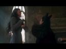 Deus Salve o Rei Lucrécia e Catarina trocam tapas