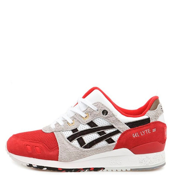 Asics Gel Lyte III Red/Grey/White