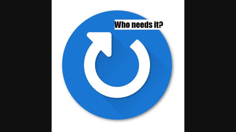 Who needs it