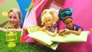 Barbie oyunları Yolunu kaybeden müşteriler Özge'nin kampında