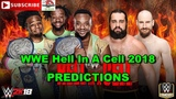 WWE Hell In A Cell 2018 SmackDown Tag Team Championship New Day vs. Rusev &amp Aiden English WWE 2K18