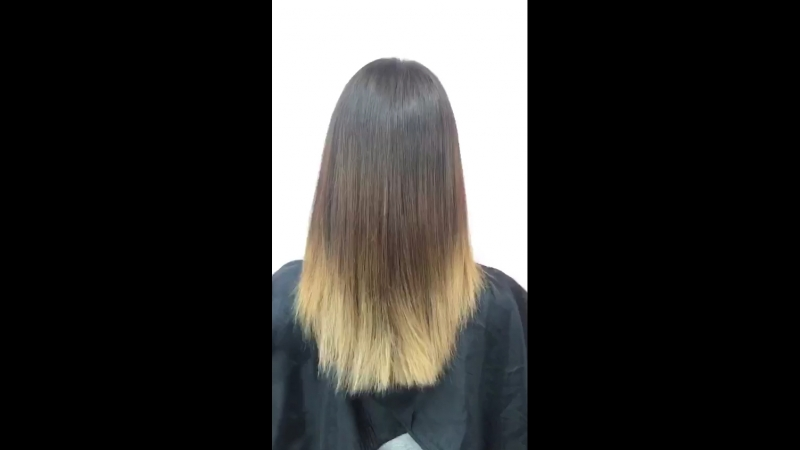 Оживили волосы ботоксом )