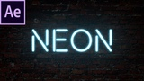 How To Add Neon Text In After Effects