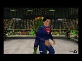 Бэтмен и Супермен (с) против Халка и Красного Халка