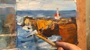 Oil painting Lighthouse