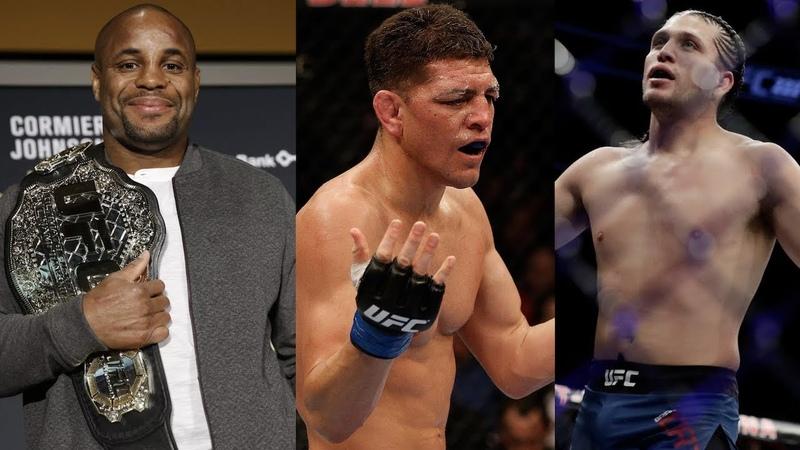 Слух о турнире UFC в России Даниэль Кормье о защите титула в 93 кг Ник Диаз бросил вызов боксеру