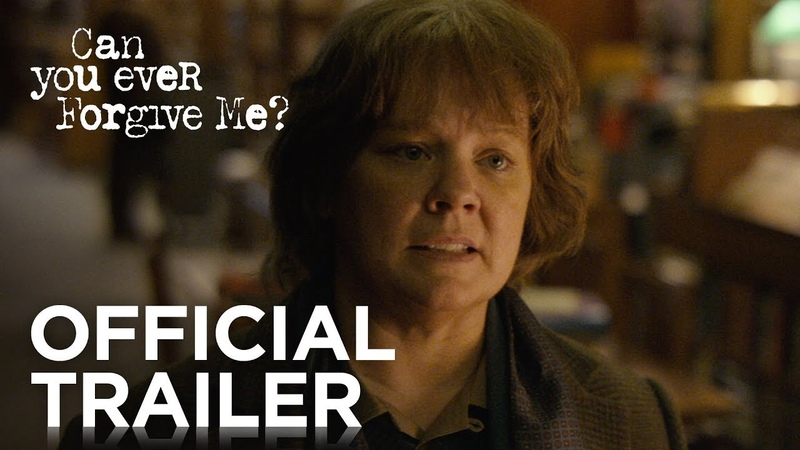 CAN YOU EVER FORGIVE ME Official Trailer HD FOX Searchlight
